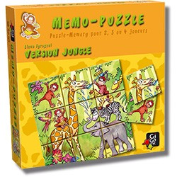 Memo-Puzzle : Version Jungle