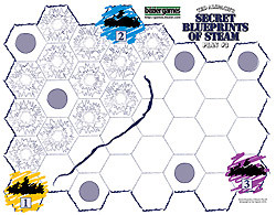 Age of Steam Expansion: Secret Blueprints of Steam: Plan 3