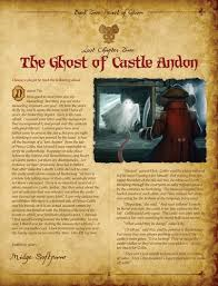 Mice and Mystics Lost Chapter: The Ghost of Castle Andon