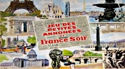 Jeu des petites annonces de France-soir