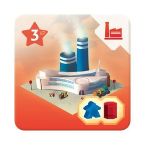 "Quadropolis - Tuile bonus ""High-Tech Factory"""