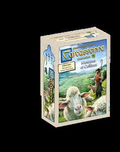 Carcassonne - extension 9 : moutons et collines