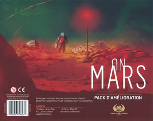 "On Mars - Extension ""Pack d'Amélioration / Upgrade Pack"""