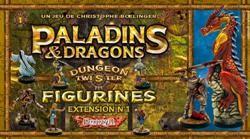 Dungeon Twister : Paladins et Dragons (Figurines)