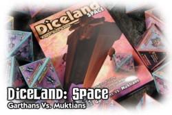 Diceland Space : Garthan Vs. Muktians