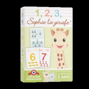 1,2,3, Sophie la girafe®