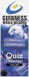 Guinness Quiz Sciences et techniques
