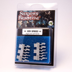 Shadows of Brimstone - Gun Sprue