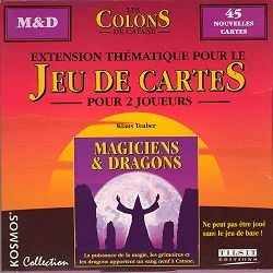 Les Colons de Catane : Magiciens & Dragons