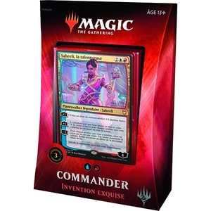 Magic the Gathering : Invention Exquise - Deck Commander 2018
