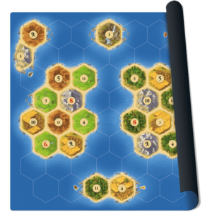 "Colons de Catane - Extension ""Les Marins de Catane"" - Tapis de jeu ""Islands"""