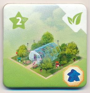 """Quadropolis - Tuile bonus """"Jardin Botanique"""""""