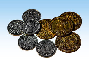 "Nanty Narking - Extension ""50 Victorian Metal Coins"""