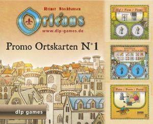 """Orléans - Extension """"Tuiles promotionnelles de Lieu - Promo Place Tiles - Promo Ortskarten n° 1"""""""