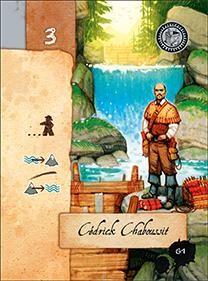 Lewis & Clark: Cédrick Chaboussit