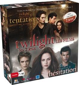 Twilight les films les 2 jeux