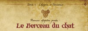 Mice and Mystics le Berceau du Chat