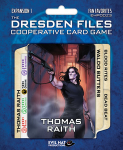 The Dresden Files Cooperative Card Game - Fan Favorites
