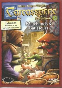 Carcassonne - Extension 2 : Marchands & Bâtisseurs