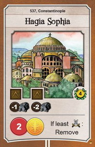 Nations - Carte promotionnelle 'Hagia Sophia'