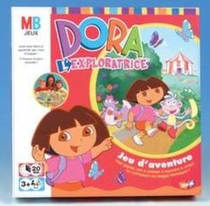Dora l'exploratrice - Jeu de parcours