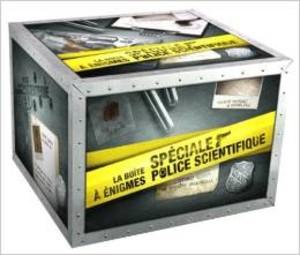 La boîte à énigmes, spéciale police scientifique