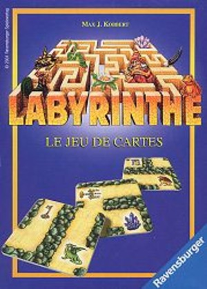 labyrinthe le jeu de cartes un jeu de max j kobbert jeu de soci t tric trac. Black Bedroom Furniture Sets. Home Design Ideas