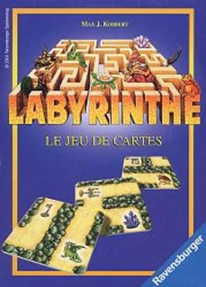 labyrinthe le jeu de cartes labyrinthe le jeu de cartes un jeu de max j kobbert jeu. Black Bedroom Furniture Sets. Home Design Ideas