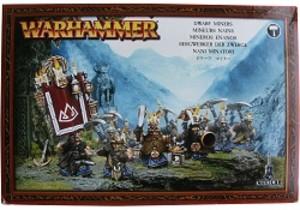 Warhammer : Mineurs Nains