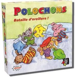 Polochons - Bataille d'oreillers !