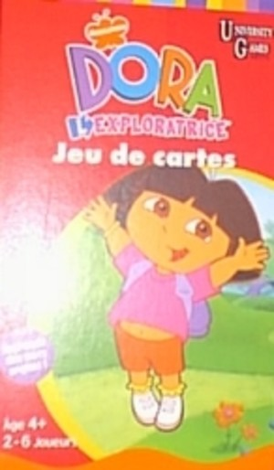 Dora l'exploratrice - Jeu de cartes