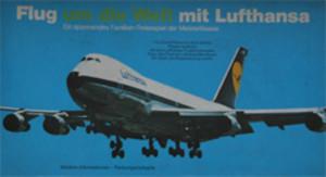 Flug um die Welt mit Lufthansa