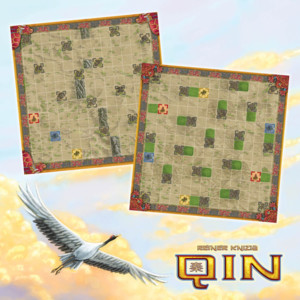 QIN : toad and dragon turtle game boards