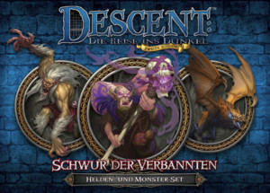 Descent 2. Edition: Schwur der Verbannten: Helden- und Monster-Set