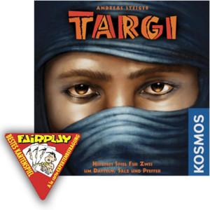Targi remporte le prix du meilleur jeu de cartes !