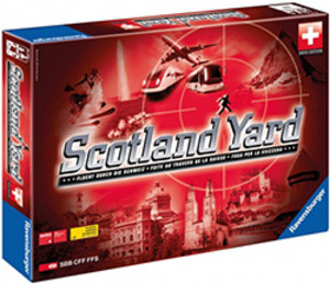 Scotland Yard : Swiss Edition