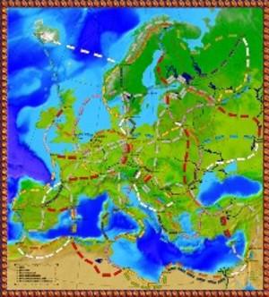 Les Aventuriers du Rail : Extension Europe