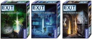 Die nächsten drei EXIT-Games