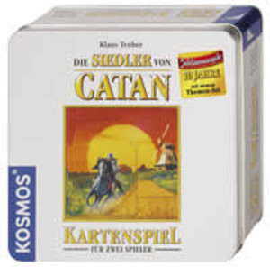 Les colons de Catane - cartes (édition anniversaire)