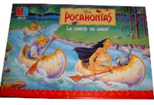 Pocahontas la course en canoé