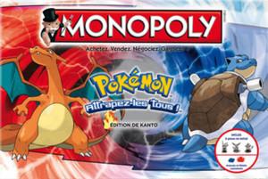 Monopoly Pokemon - Edition de Kanto