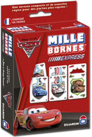 mille bornes express cars 2 vid os 1 un jeu de edmond dujardin jeu de soci t tric trac. Black Bedroom Furniture Sets. Home Design Ideas