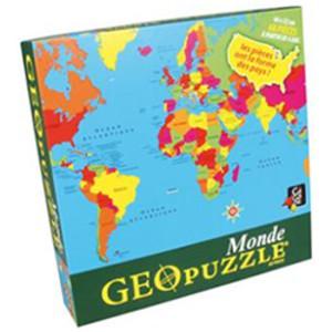 Geo Puzzle Monde