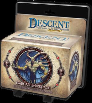 Descent : Voyages dans les Ténèbres - Pack Lieutenant Gargan Mirklace