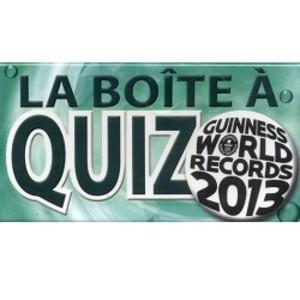 la boite a quizz (guinness world records 2013)