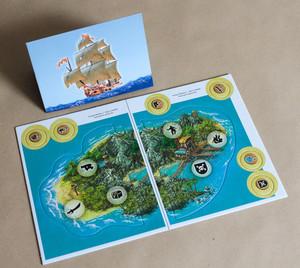 """Tortuga - Queenie 2 - Île & tuiles """"Île"""""""
