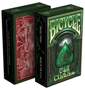 Bicycle Call of Cthulhu Limited Green Edition Cartes