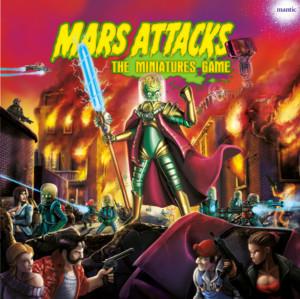 Mars Attacks Miniaturenbrettspiel DELUXE