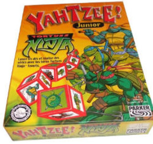 Yahtzee! Junior - Tortues Ninja