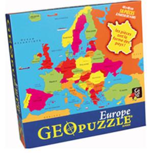 Geo Puzzle Europe